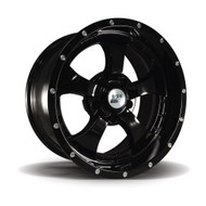 "Gloss Black 17x9"" Alloy Wheel"