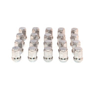 "1/2"" Chrome Lug Nut (3/4"" Head) - SET OF 20"