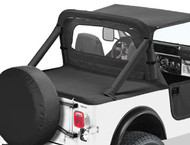 '80-'91 CJ7/YJ Duster Deck Cover w/factory hard top