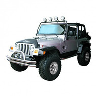 '97-'06 TJ Black Full Frame Light Bar