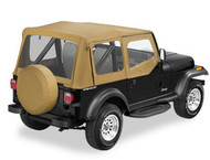 '87 YJ Replace-a-Top w/upper door skins & clear windows