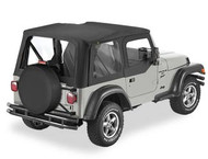 '97-'02 TJ Replace-a-Top w/upper door skins & clear windows