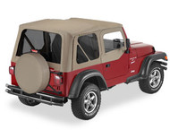 '97-'02 TJ Replace-a-Top w/upper door skins & tinted windows