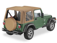 '97-'02 TJ Replace-a-Top w/tinted windows w/o upper door skins