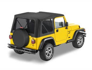 '97-'02 TJ Replace-a-Top w/tinted windows & w/o upper door skins