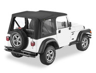 '03-'06 TJ Replace-a-Top w/clear windows & no upper door skins