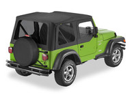 '03-'06 TJ Sailcloth Replace-a-Top w/upper door skins & tinted windows