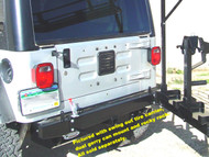 '76-'06 CJ/YJ/TJ/LJ Rear Bumper w/Receiver
