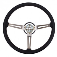 '76-'95 CJ/YJ Reproduction Leather Wrapped Steering Wheel