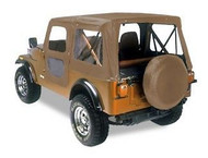 '76-'86 CJ7 60th Anniversary Replace-a-Top w/door skins (Tan Denim)