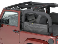 '07-Current JK Saddle Bags (Black Diamond)