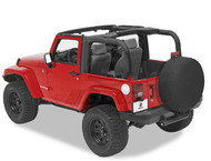 '07-Current JK 2-door Sport Bar Cover