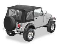 '76-'95 CJ7/YJ Supertop, no doors & clear windows