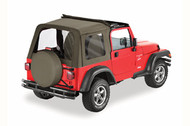 '06-'06 TJ Bestop Sunrider, no doors (Khaki Diamond)