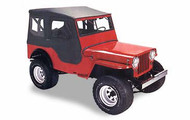 '41-'49 CJ-2A Tigertop w/doors & clear windows