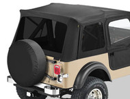 '76-'95 CJ/YJ Tinted Window Kit for Supertop