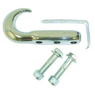 '42-'06 CJ/YJ/TJ 3-Hole Chrome Tow Hook