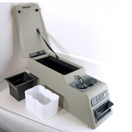 '76-'95 CJ/YJ Ultimate Locking Console (GRAY)