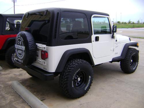 39 97 39 02 wrangler tj hardtop black collins bros jeep. Black Bedroom Furniture Sets. Home Design Ideas