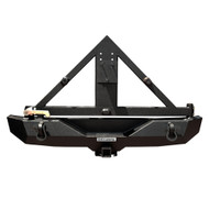 Rear Recovery Bumper with Tire Carrier assembly