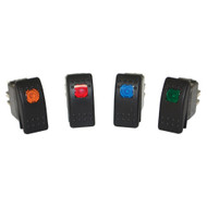 Black Mountain Light Rocker Switch