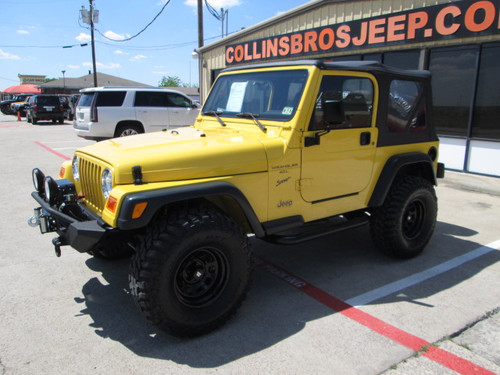 sold 2002 jeep tj wrangler sport stock 737245 collins. Black Bedroom Furniture Sets. Home Design Ideas