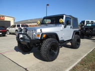SOLD 2003 Jeep Wrangler Sport Silver 6 cyl. Automatic Stock# 354846