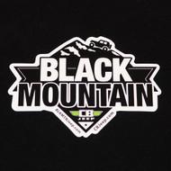 Black Mountain Peak 6x4 Die Cut