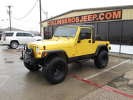 SOLD  2004 Jeep LJ Wrangler Unlimited Half Cab Conversion Stock# 796012