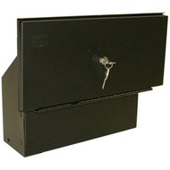 '05-Current Toyota Tacoma Bed Security Lock Box (Black)