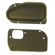 '76-'86 CJ Black Wiper Motor Cover