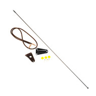 '76-'95 CJ/YJ Black Antenna Kit