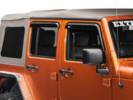'07-Current JKU Front and Rear Window Rain Deflectors
