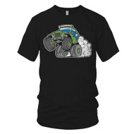 Jeep Wheelie Boy's T-Shirt – Black