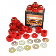 '87-'95 YJ 22pc Body Mount Bushing Kit (Red)