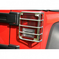 '07-Current JK Stainless Tail Light Euro Guards