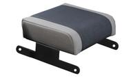 '07-'10 JK Neoprene Console Armrest Pad (Black & Gray)