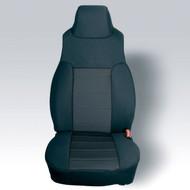 '03-'06 TJ/LJ Neoprene Front Seat Covers (Black w/Black Insert)