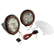 7 round hid off road light w wiring harness cbjeep 7 round hid off road lights w wiring harness