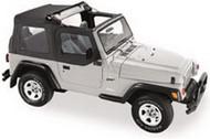 '97-'06 TJ Flip Top w/upper doors (Black Denim)