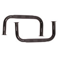 '55-'75 CJ-5 Side Bars w/Step (Black)