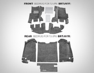 '97-'06 TJ Front BedRug Carpet Kit (Gray)