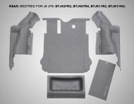 '07-'10 JKU Rear 5-pc BedTred Kit
