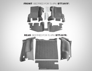 '97-'06 TJ Rear Rubber BedTred Liner Kit (Gray)