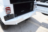 '07-Current JK BLKMTN Rear Off-Road Rock Bumper (Bright White)