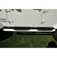 '07-Current JKU Side Bars (Bright White)