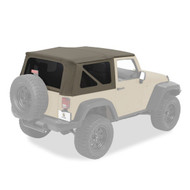 '07-'09 JK 2dr Replacement Top (Khaki Diamond)