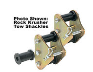 "'76-'86 CJ 3/4"" Lift Front Greasable Tow Shackle Kit"