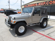 SOLD 2004 TJ Wrangler Sahara Edition Stock# 703492