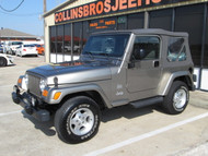 SOLD 2003 TJ Wrangler Sahara Edition Stock# 350988